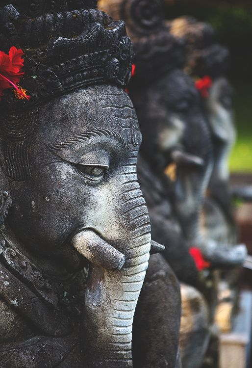 ganesha statues, bali #hindu