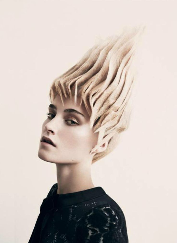 418 best wacky avant garde hair images on pinterest