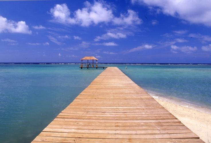 カリブ海。BLU~!!