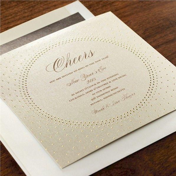 Glamour Party Invitation
