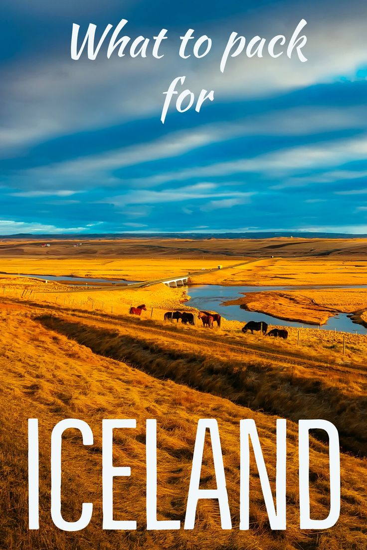 If you're wondering what to pack for Iceland check here for the perfect Iceland packing post.