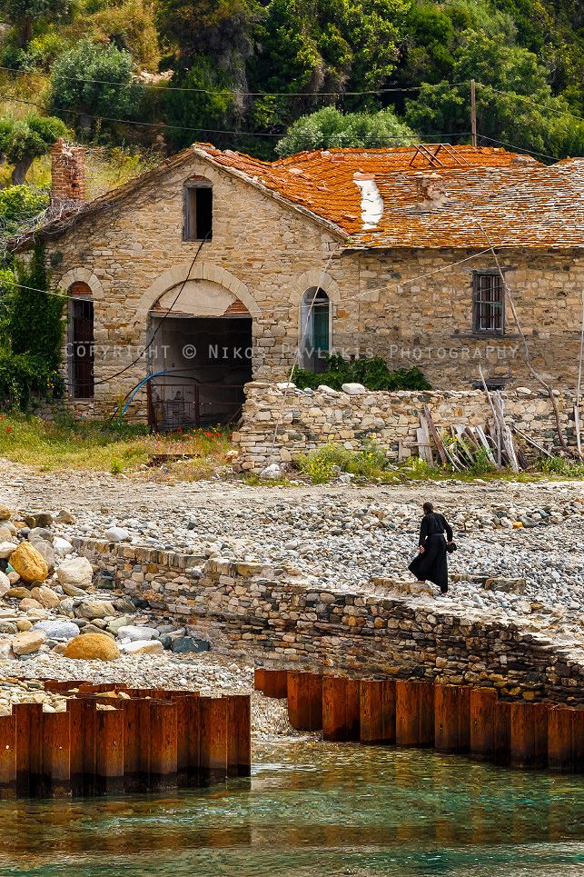 Arsanas of Zografou Monastery, Mount Athos (Agion Oros), Greece