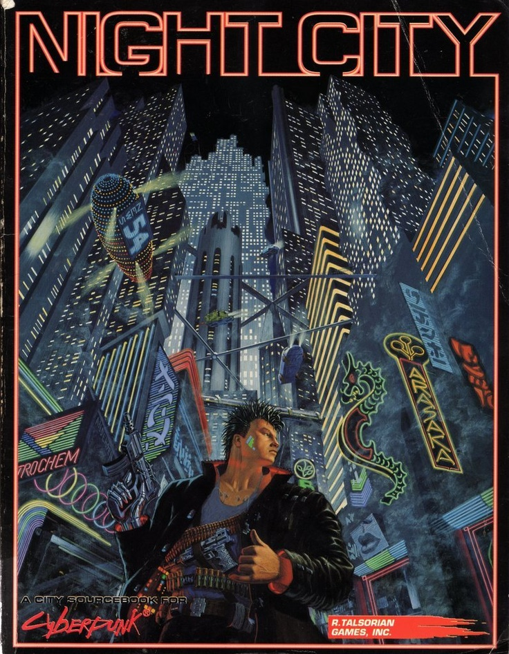 I was talking about Cyberpunk 2020 on an old school gamer forum and it gave me a huge urge to play this classic again.  Another contender for the new Saturday night game.