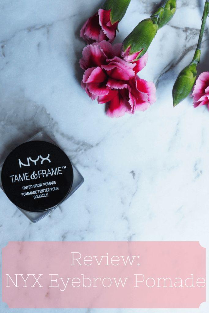 NYX Tame & Frame Tinted Brow Pomade Review - alternative to ABH Pomade?