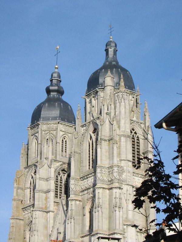 Clochers A Bulbes De La Basilique Saint Nicolas Port En Lorraine
