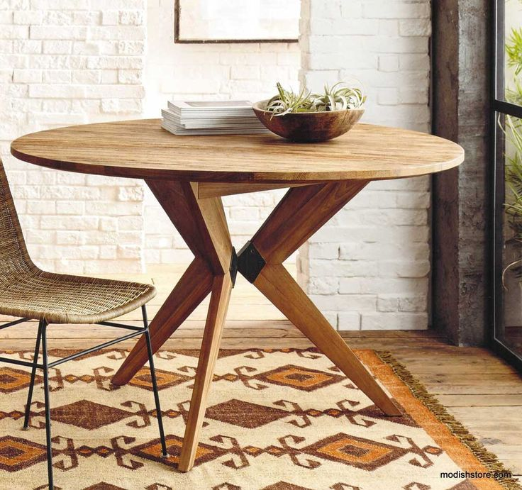 Roost Recycled Teak Table – Modish Store