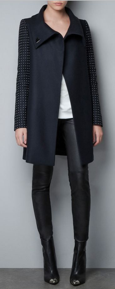 #Stunning coat simple women #2dayslook #new women #simplefashion www.2dayslook.com