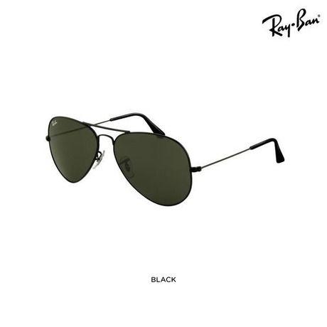 all black Ray-Bans, definitely my next pair