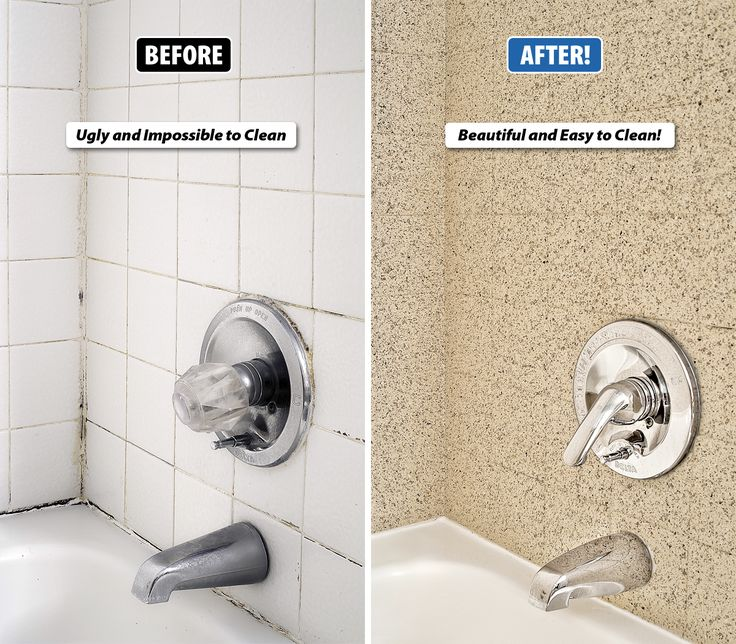 how to clean bathroom grout mildew