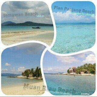 Pantai-pantai indah di #Anambas #Kepulauan Riau #Indonesia #beach