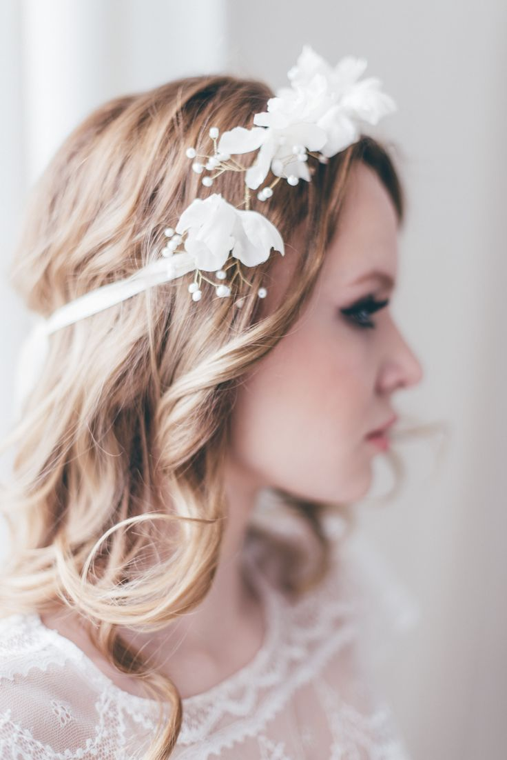 Decolove Bridal headpieces in Atelier Twardowska Campaign 2016