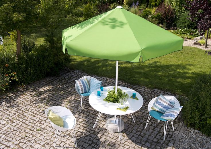 Parasol ogrodowy RODOS - prod. Litex (meble ogrodowe, parasole ogrodowe, parasol ogrodowy, parasol, meble tarasowe, zadaszenie tarasu, parasol do ogrodu, parasole do ogrodu, Garden Space)