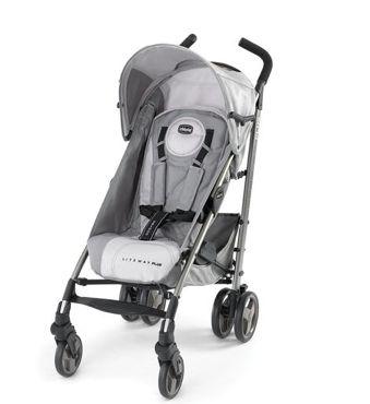 Chicco Lightway Plus Stroller - Silver