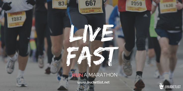 Ever wondered where your limits are? Test yourself by running a marathon -> https://www.bucketlist.net/bm469/