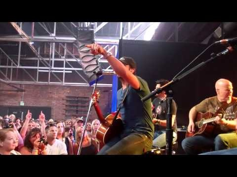 Luke Bryan - Suntan City at Fan Club Party 2012 @ CMA Fest in Nashville, TN 6/7/12