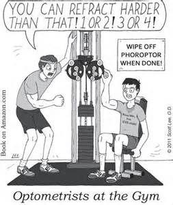 Optometrists at the Gym