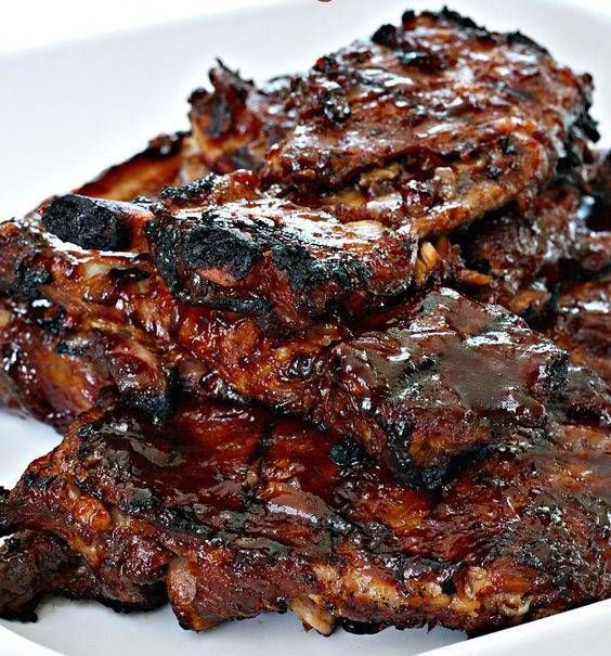 Brown Sugar BBQ Ribs33 summer recipes to make in a crockpot on domino.com