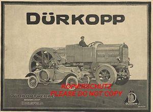 lastkraftwagen  werbung   Dürkopp Automobil Schlepper Raupe ?? Lastkraftwagen Lkw ...