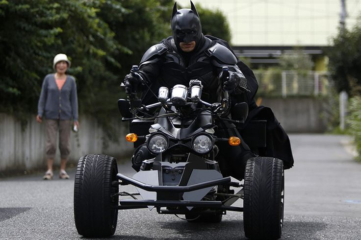 Chibatman, A Real Life Batman Whose Mission Is to Bring Smiles to the People of Chiba, Japan