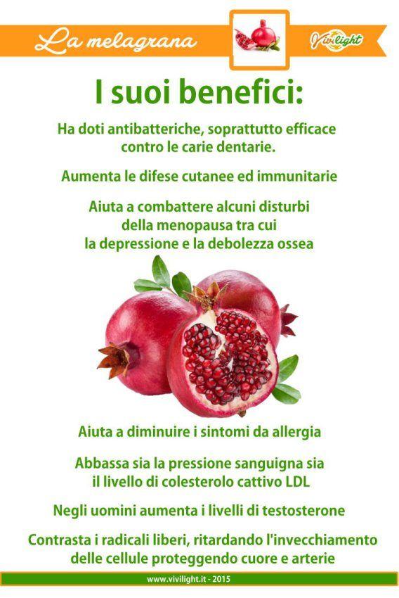 ViviLight Melograno: proprietà, benefici e uso del suo frutto