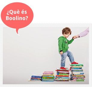 Boolino - entusiasmar els nens pels llibres...