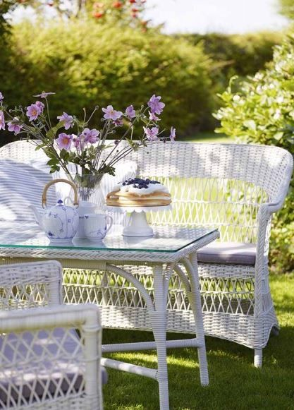 witte tuinmeubelen white outdoor furniture ideas inspiration garden fonteyn