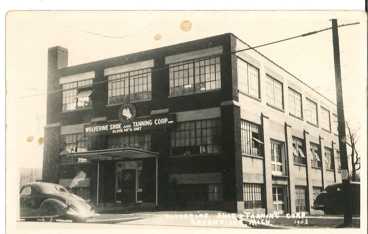 Wolverine Shoe And Tanning Corp, Greenville, Michigan. They Made Gloves For  The Soldiers