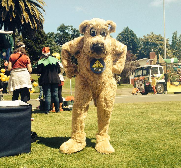 Santa Parade costume as Stan the Dog #krakup #Rotorua