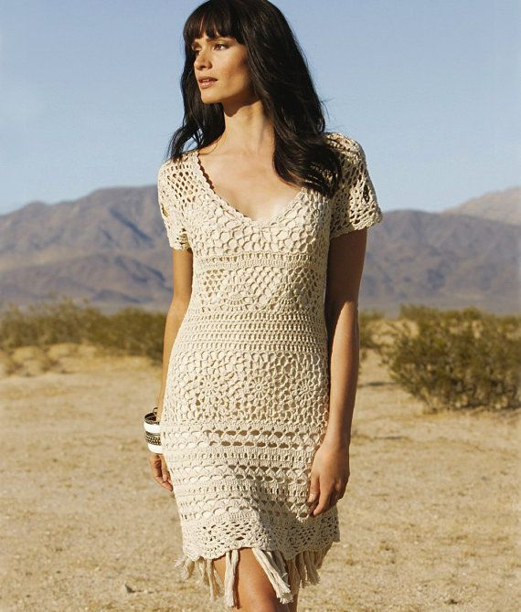 Crochet dress PATTERN for sizes S-2XL door CONCEPTcreativeSTORE