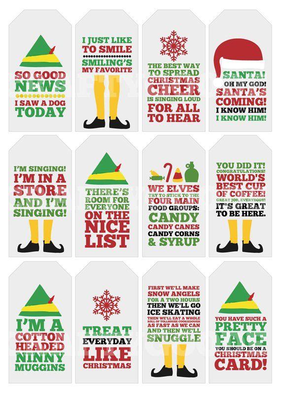 Image 0 Christmas Gift Tags Printable Christmas Gift Tags Christmas Quotes