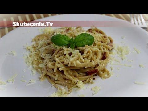 Spaghetti carbonara -wersja klasyczna i z jogurtem :: Skutecznie.Tv [HD] - YouTube