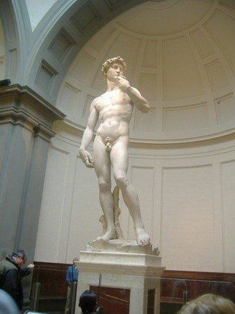 Accademia Gallery, Florence. See Michelangelo's David.