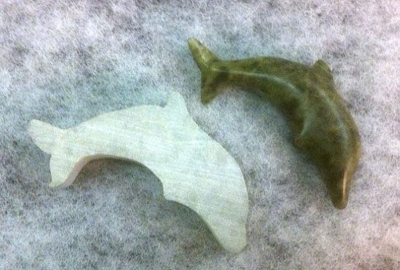Soapstone Carving Kit DOLPHIN by Studio4Stone on Etsy, $25.00