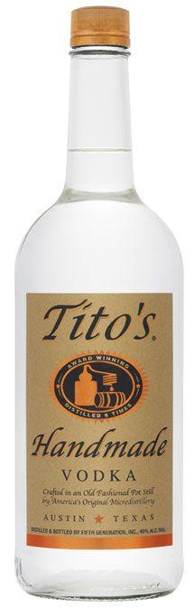 Trusted and fantastic Tito's - gf Vodka