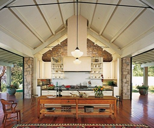 91 best images about outdoor kitchens on pinterest pool for Country outdoor kitchen