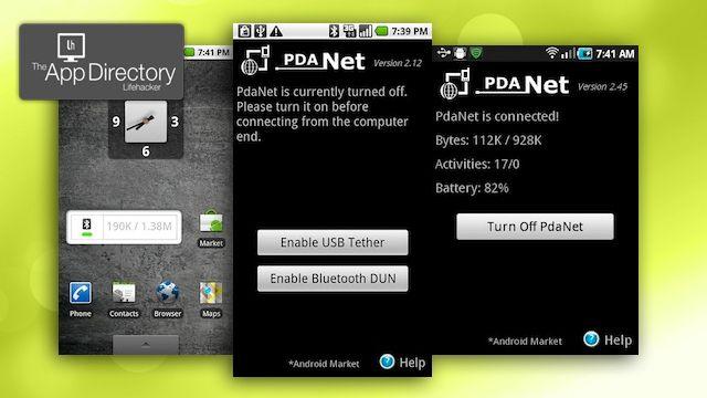 PDA Net ftw
