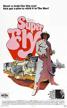 SuperFly is a 1972 Blaxploitation film directed by Gordon Parks, Jr., starring Ron O'Neal as Youngblood Priest, a black cocaine dealer who is trying to quit the underworld drug business. This film is known for its soundtrack, written and produced by soul singer Curtis Mayfield. SuperFly is one of the few films ever to have been outgrossed by its soundtrack.