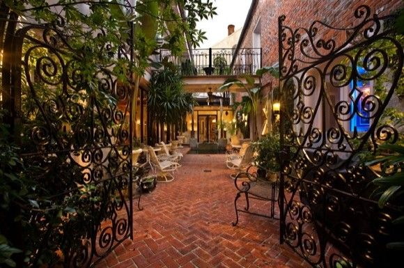 A New Orleans French Quarter Courtyard Private Small