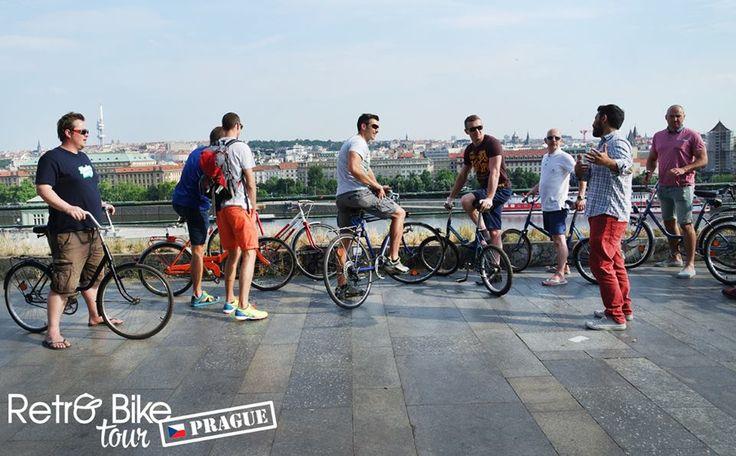 Enjoy a beautiful panorama on the city of Prague