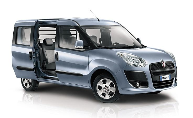 Car Specifications: Fiat Doblo, 1600cc, manual, 7 seats, 5 doors.  Extra: A/C, radio, CD player