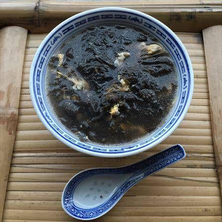 おうちで中華49 - 超お手軽スープ!磯海苔と玉子を煮るだけの紫菜蛋花湯! : 吃尽天下@上海