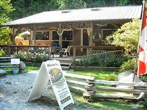 Savary Island store, near Powell River, BC. BC liquor certification fiasco.