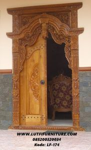 Pintu Rumah Modern Model Gebyok