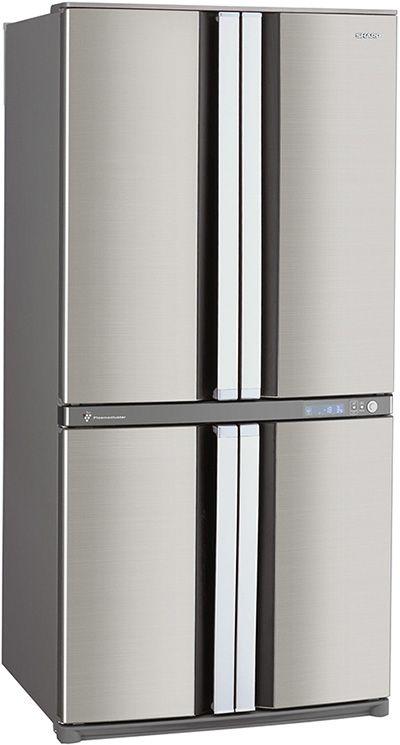4 Door Fridge Freezer Sharp Sjf79pssl With Plasmacluster