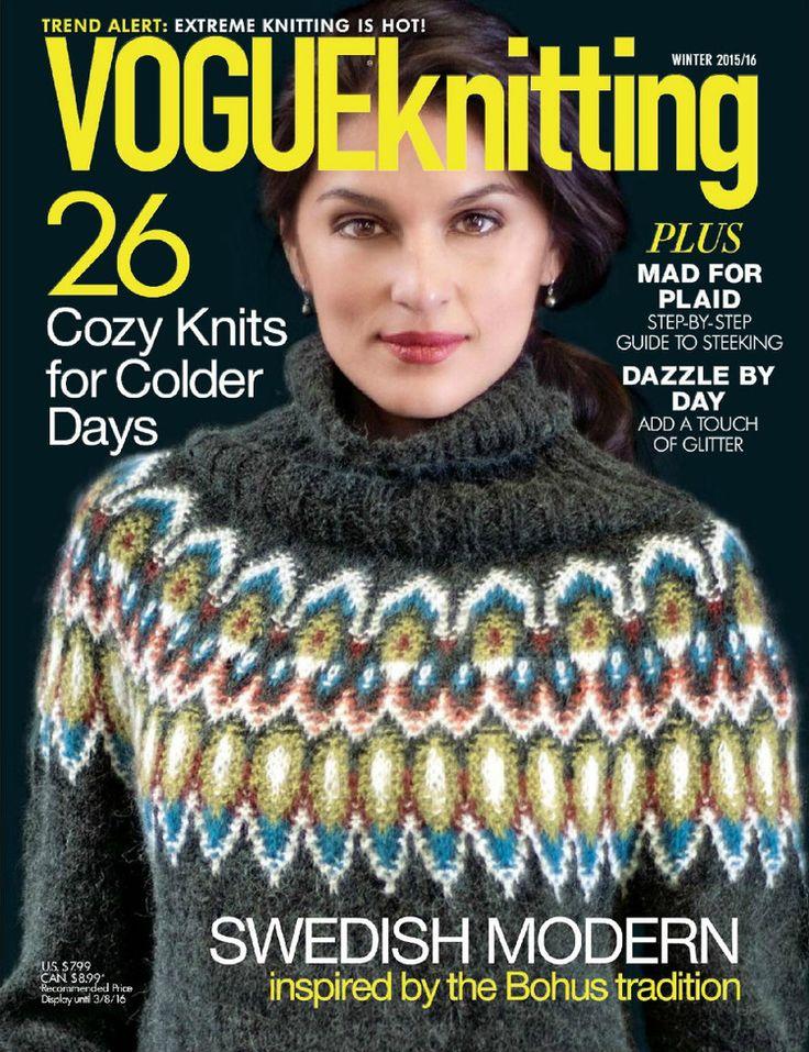 Vogue Knitting Winter 2015/2016 - 轻描淡写 - 轻描淡写