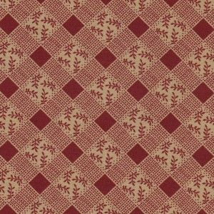 Generals' Wives, Plaid in Wine