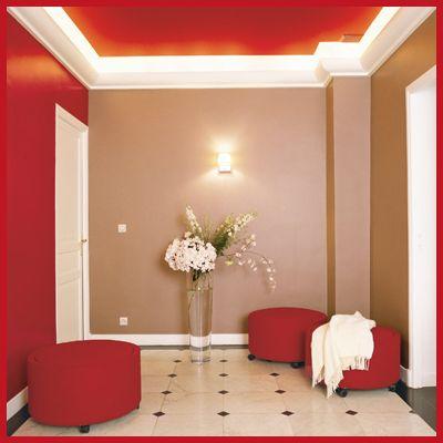 Un soffitto troppo alto.  Modifica lo spazio con il colore  Pinterest  Str...