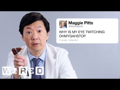 Ken Jeong Answers Medical Questions From Twitter