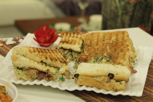Grilled Chicken Panini Sandwich Recipe by Shireen Anwar – Recipes in Urdu & English