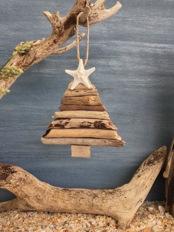 Hey, I found this really awesome Etsy listing at https://www.etsy.com/listing/240847785/driftwood-christmas-tree-ornament-small